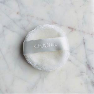 Chanel powder puff